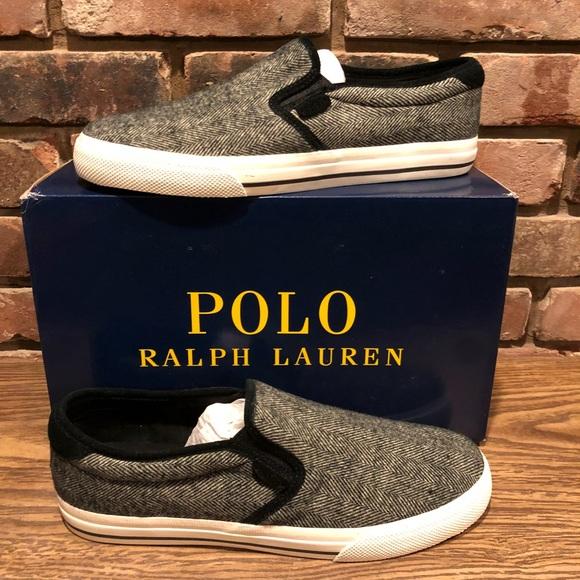 polo ralph lauren slip on shoes